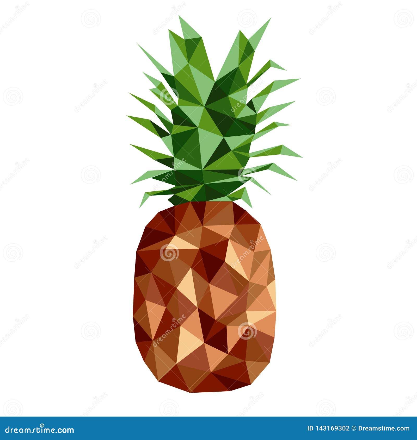 Vith Blätter der Polygonbraun-Ananas