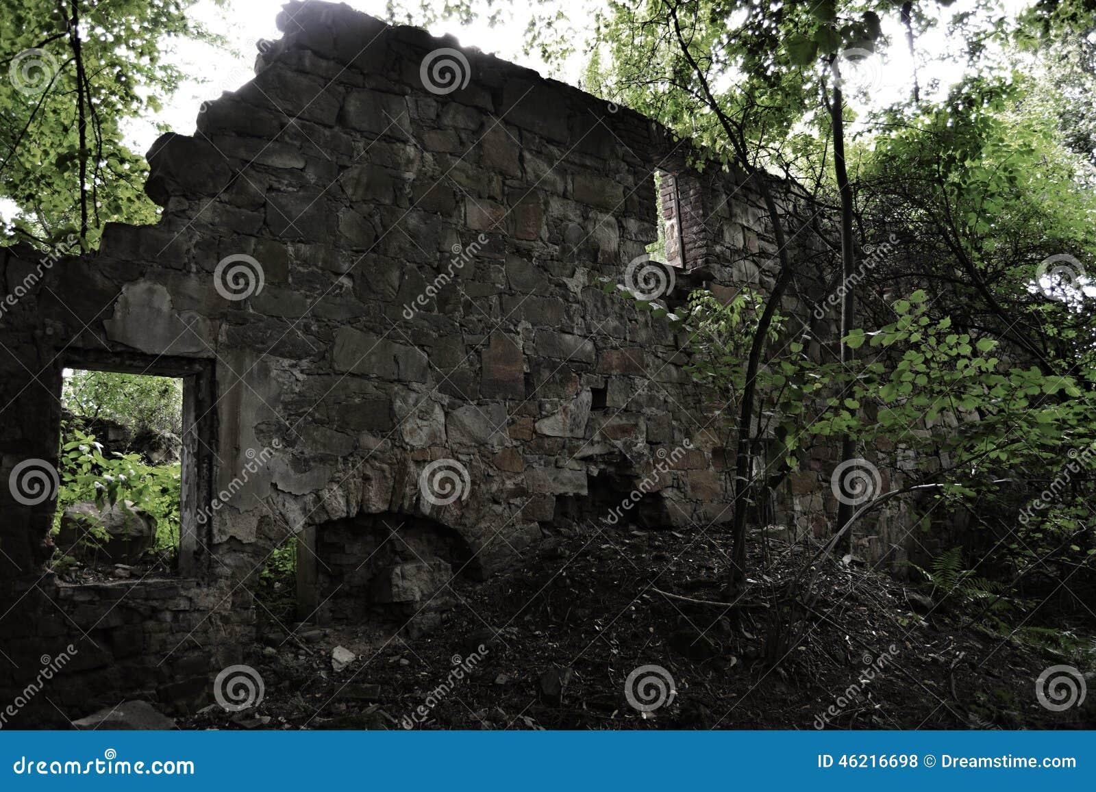 Usti nad Labem Czech Republic  City new picture : Abandoned village Vitin near Aussig Usti nad Labem , Czech Republic.