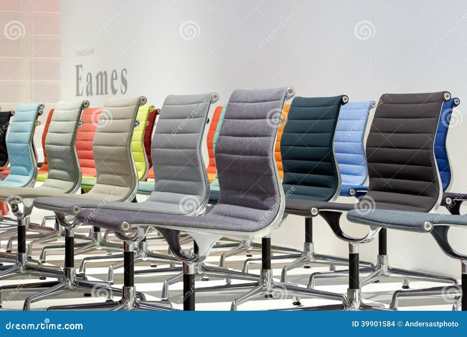 Vitra stand during salone internazionale del mobile in for Salone del mobile vitra
