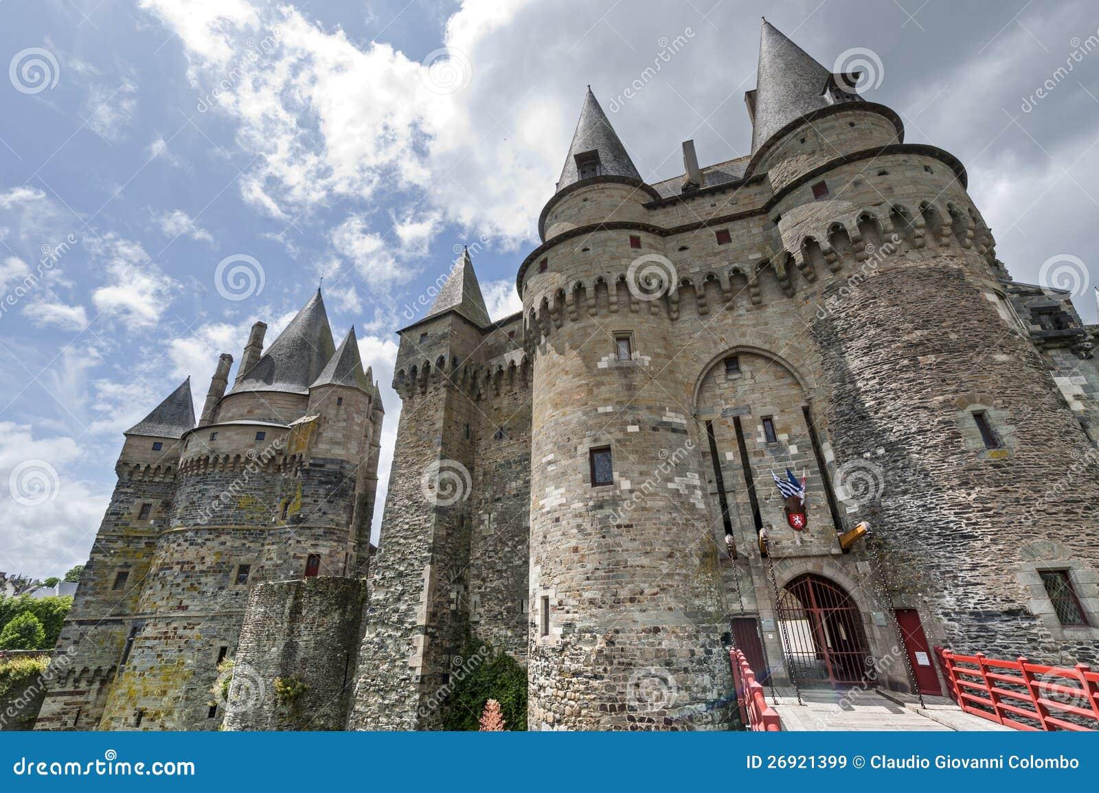 Vitre, Brittany, château