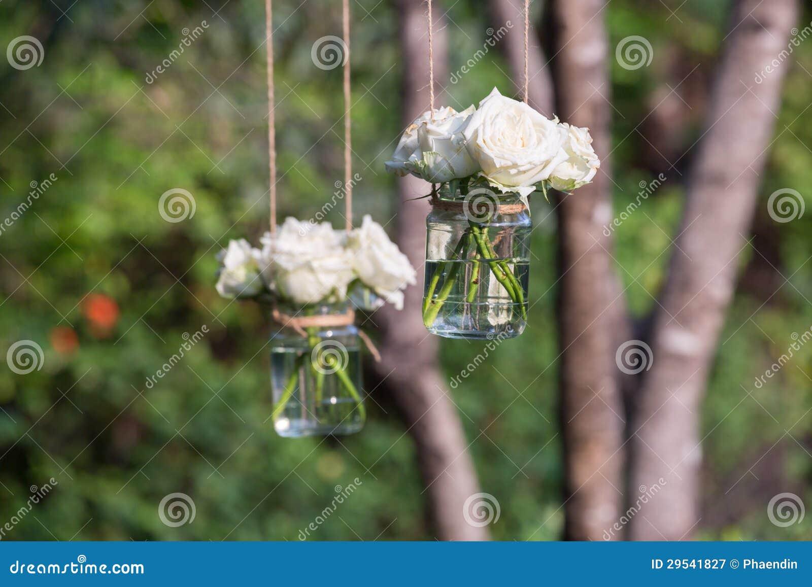 Vitro i en glass vase
