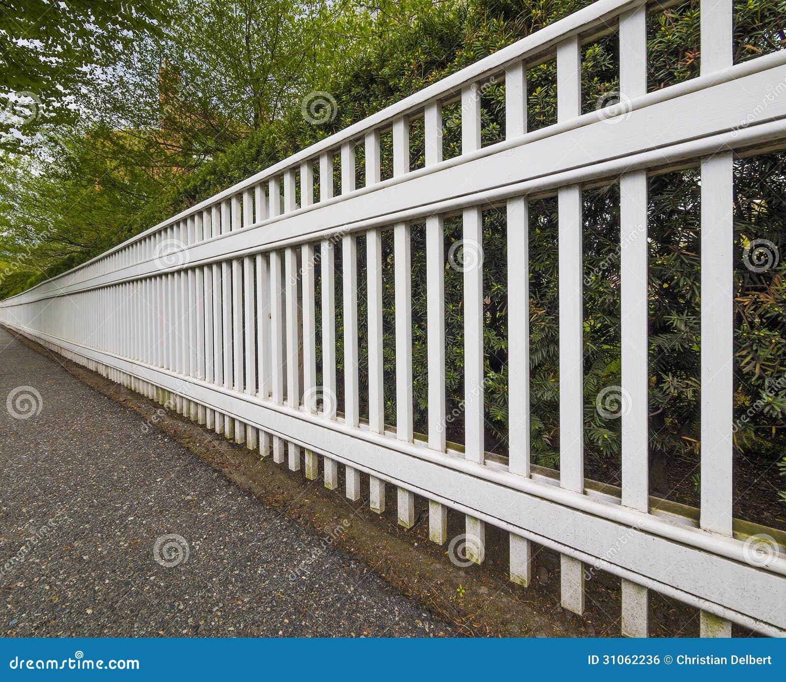 Soffor mobler: vitt staket