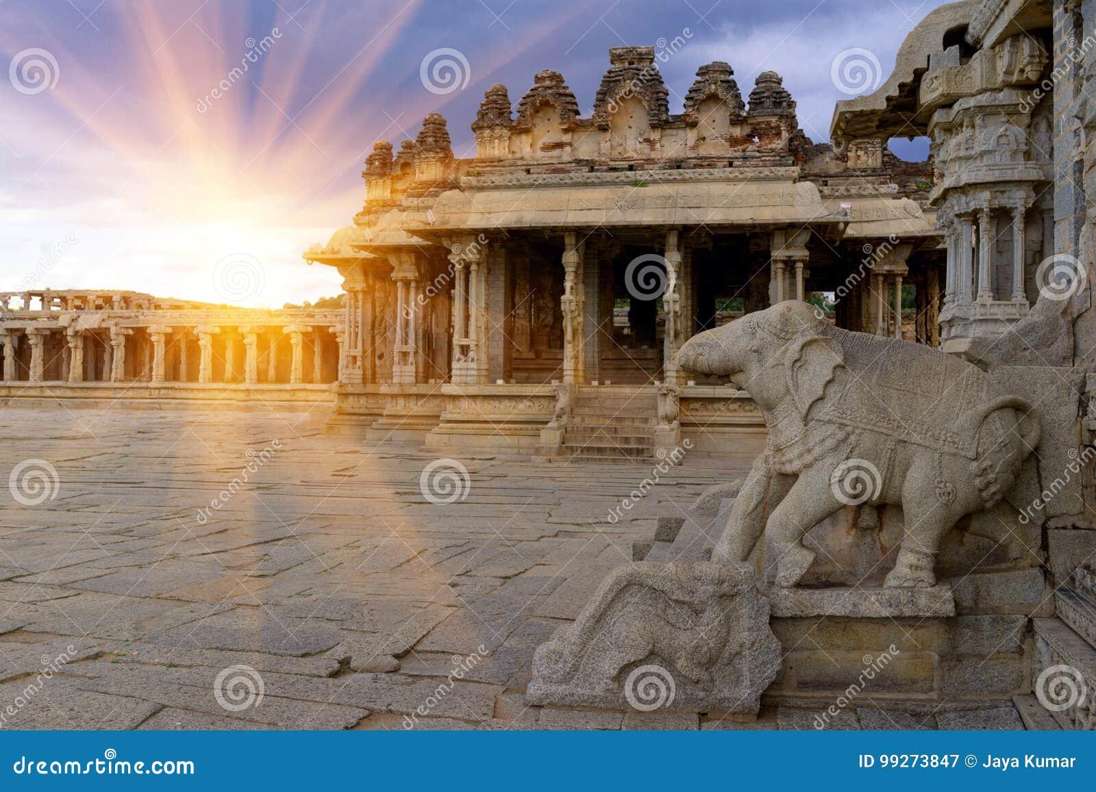Vittala Temple Hampi, Karnataka, India