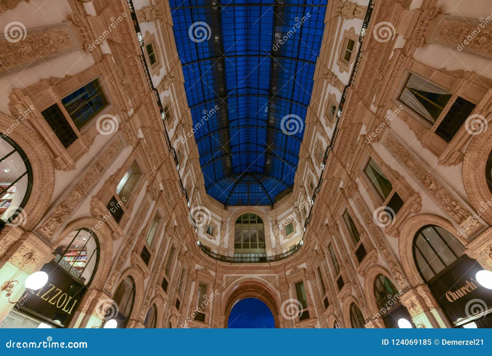 Vittorio Emanuele II galeria - Mediolan, Włochy