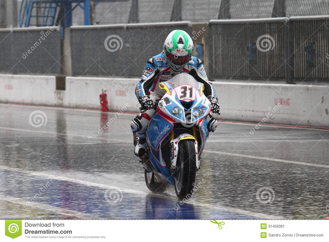 Vittorio Iannuzzo #31 on BMW S1000 RR with Grillini DENTALMATIC SBK Team WSBK