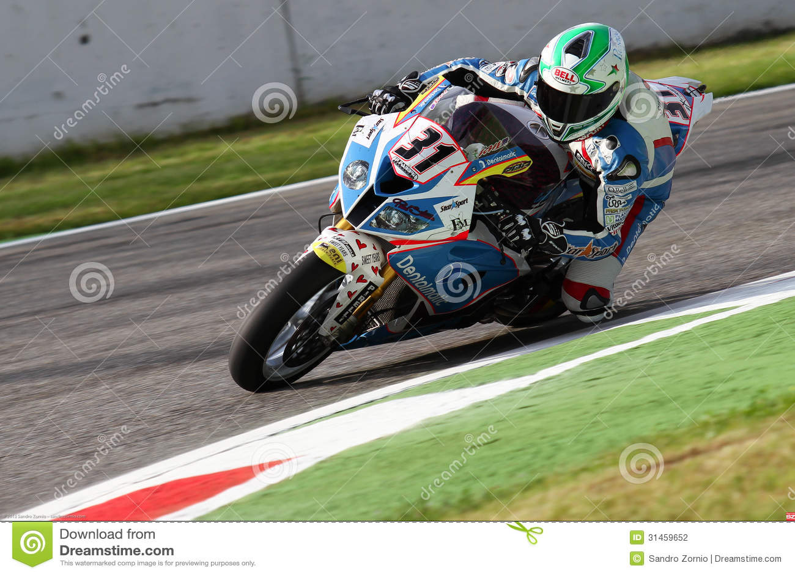 Vittorio Iannuzzo #31 on BMW S1000 RR with Grillini DENTALMATIC SBK Team WSBK