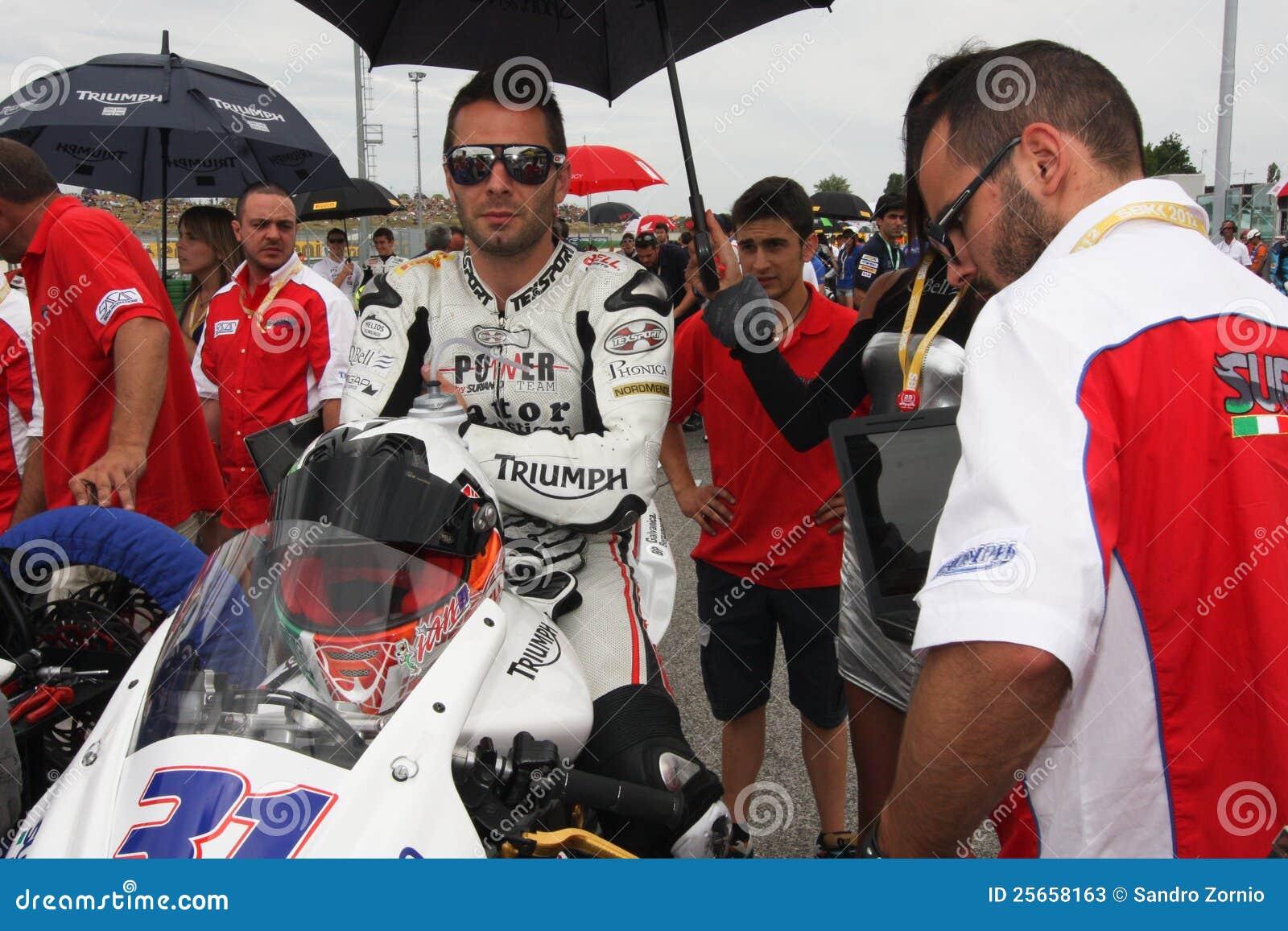 Vittorio Iannuzzo Triumph Daytona Suriano