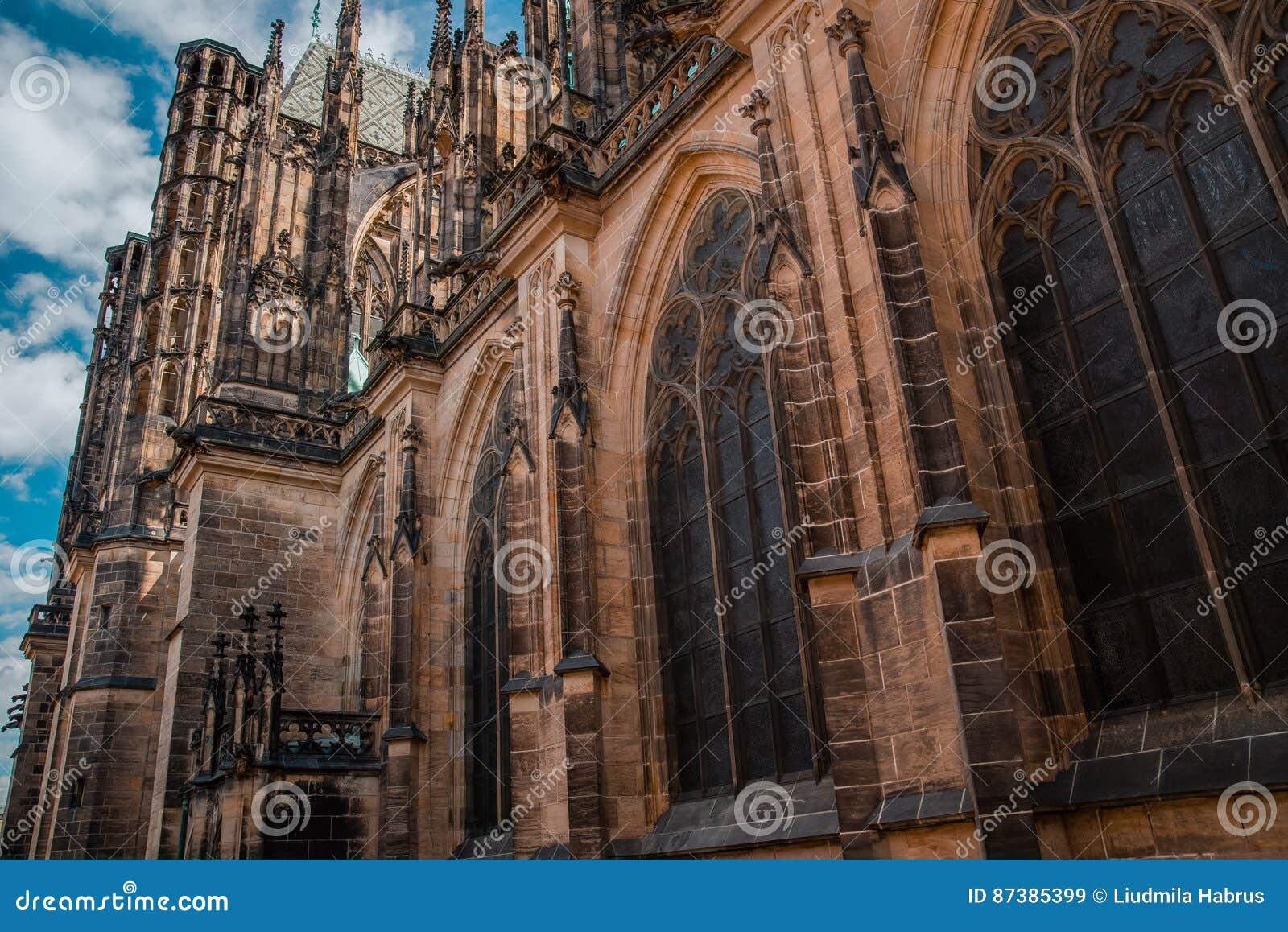 Vitus святой prague собора