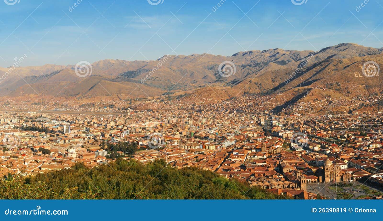Viva El Peru, Cuzco, Panoramic view