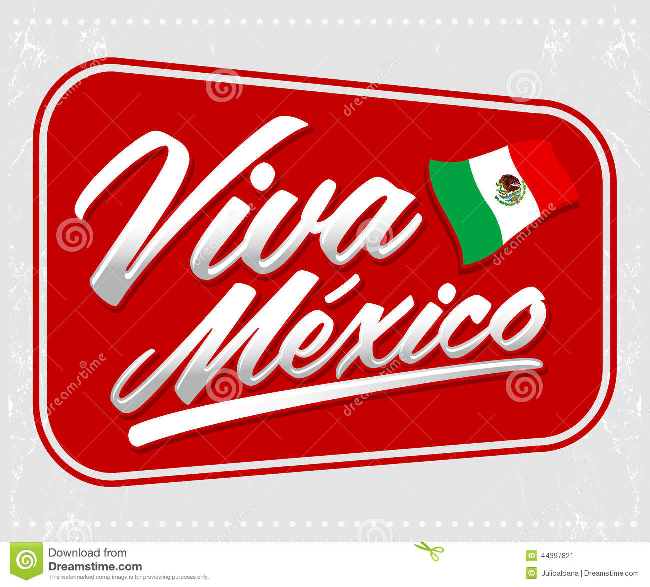 Viva Mexico - mexican holiday lettering