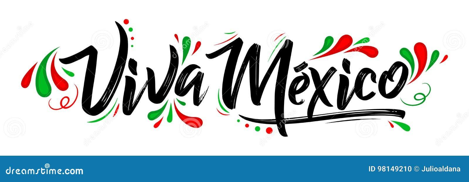 Viva Mexico, traditionele Mexicaanse uitdrukkingsvakantie