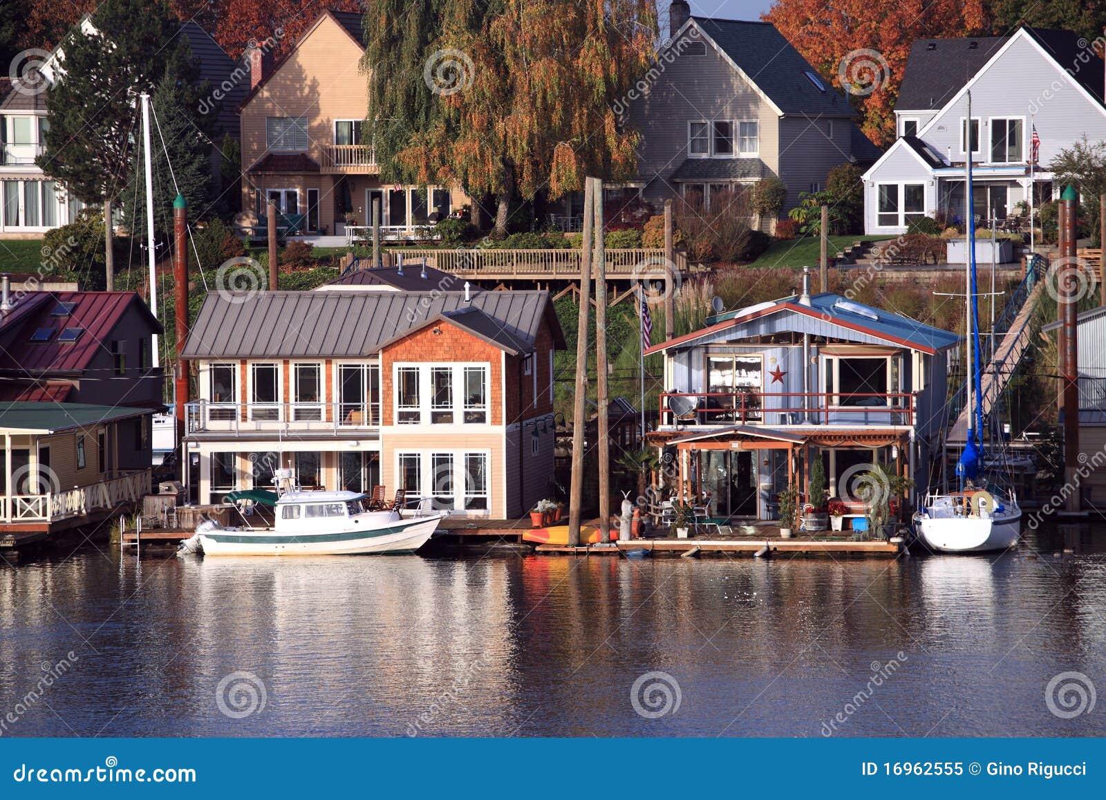 Vivant sur l eau, Portland Orégon.