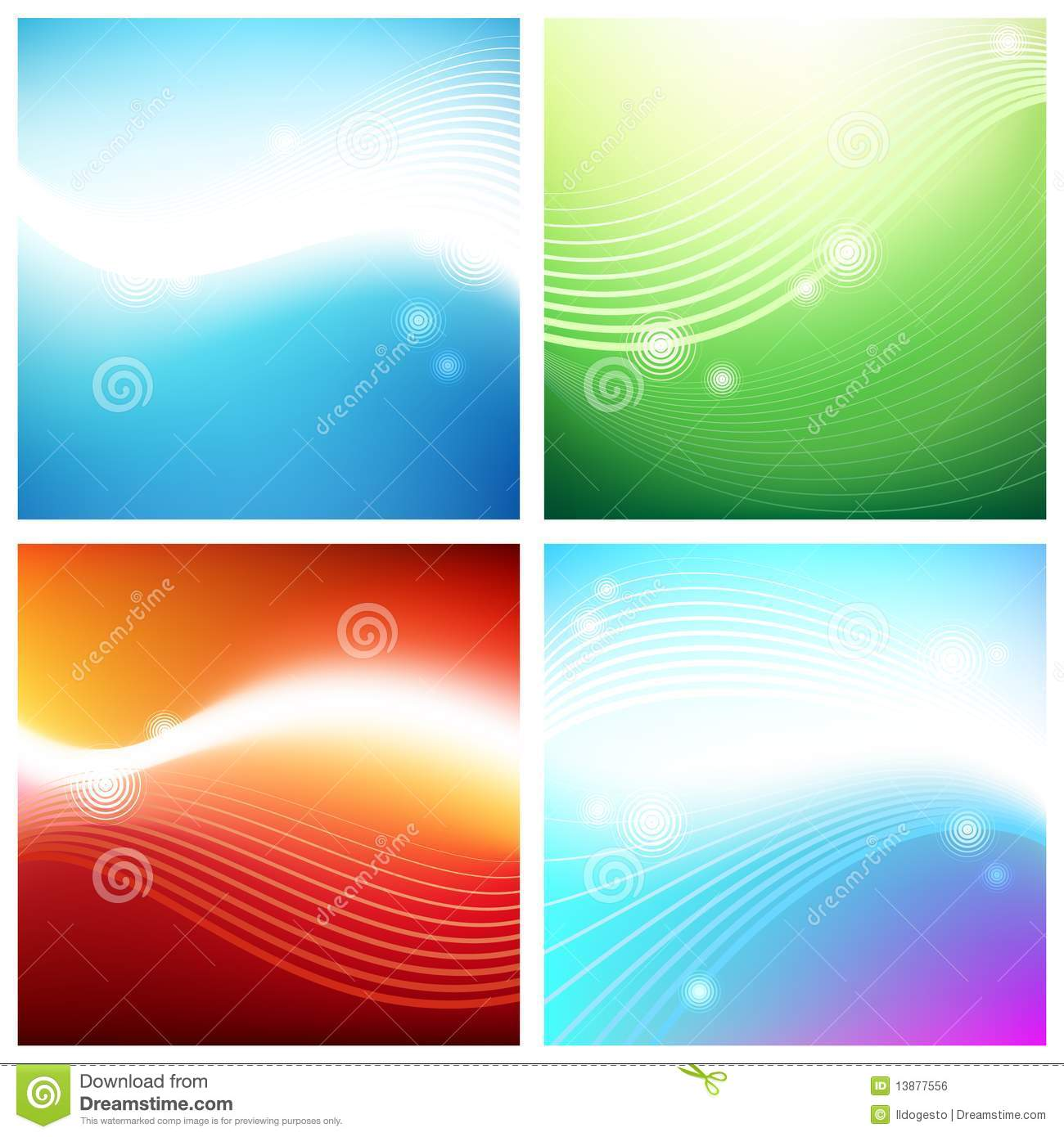 Vivid Backgrounds Aura Royalty Free Stock Image Image