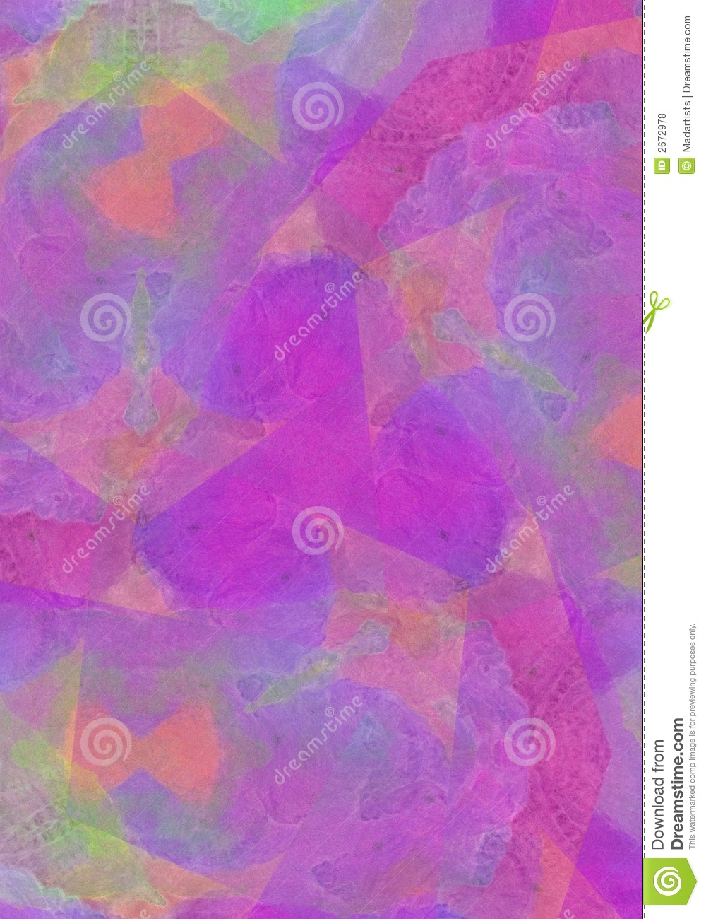Vivid Bright Purple Background