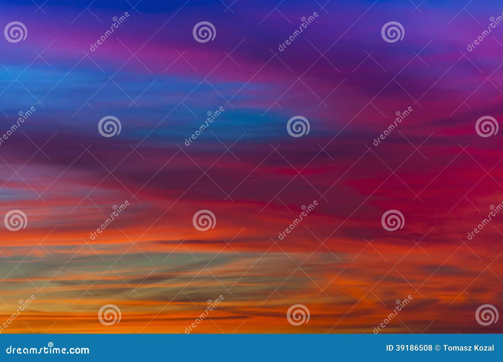 Vivid sunset stock photo  Image of vivid, colorful, nature - 39186508