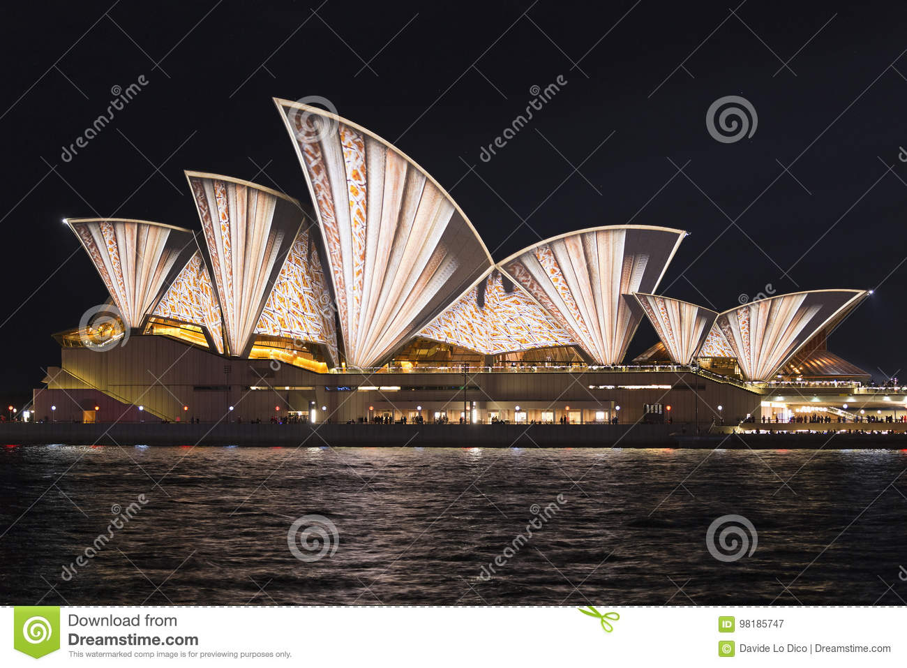 Vivid Sydney editorial photography  Image of event, drawing - 98185747