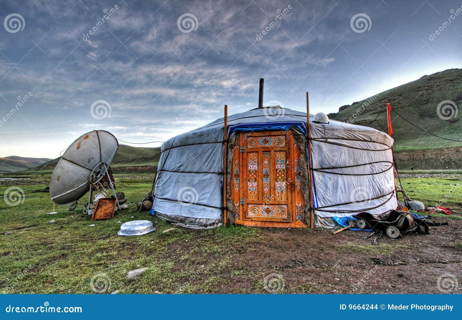 Vivienda mongol