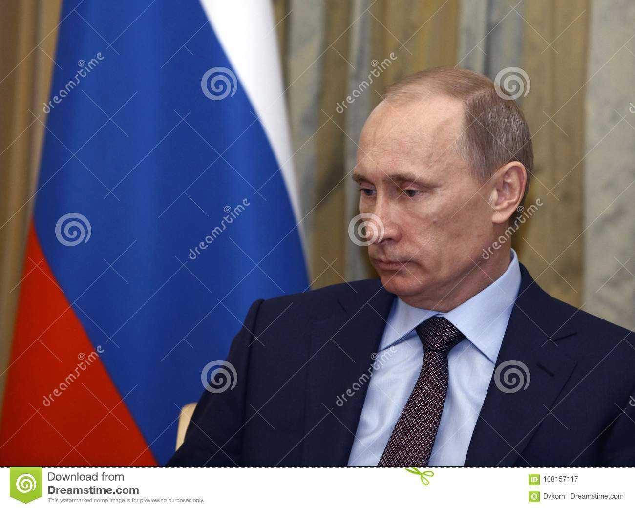 Vladimir Putin President Of Russia Editorial Photography Image Of Russia Current 108157117