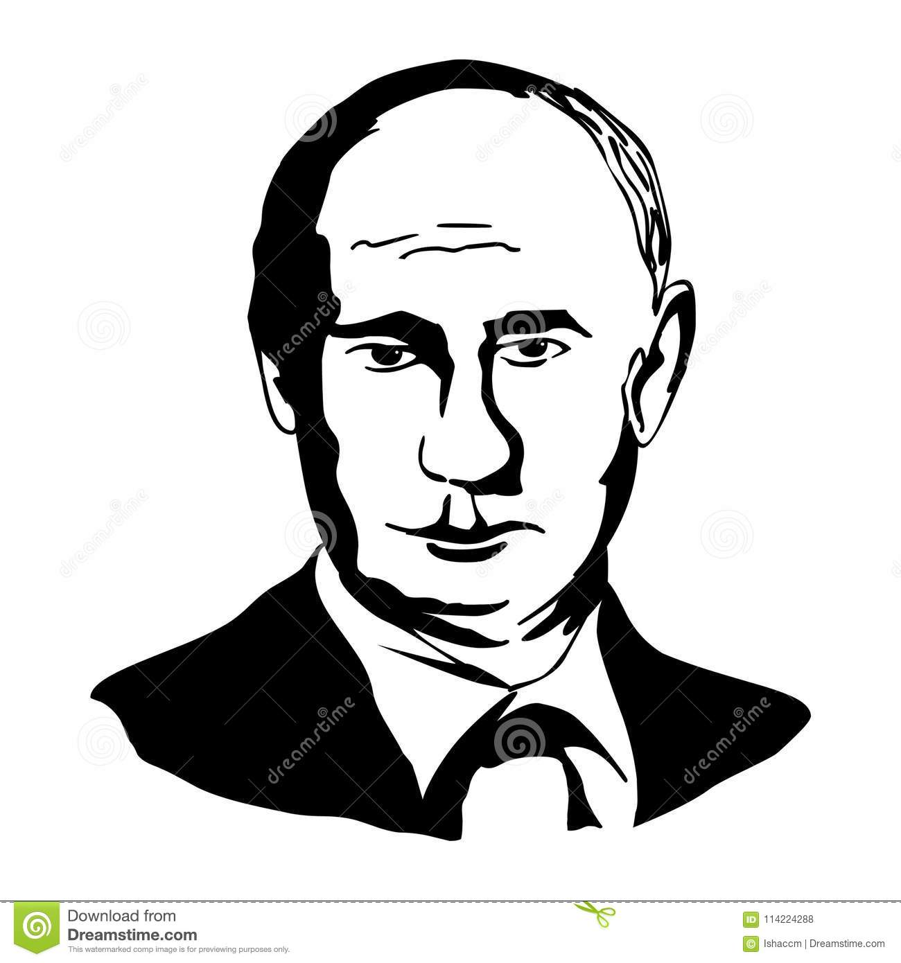 Drawn by Vladimir Putin appeared on the cover of New Yorker 03/06/2017 93