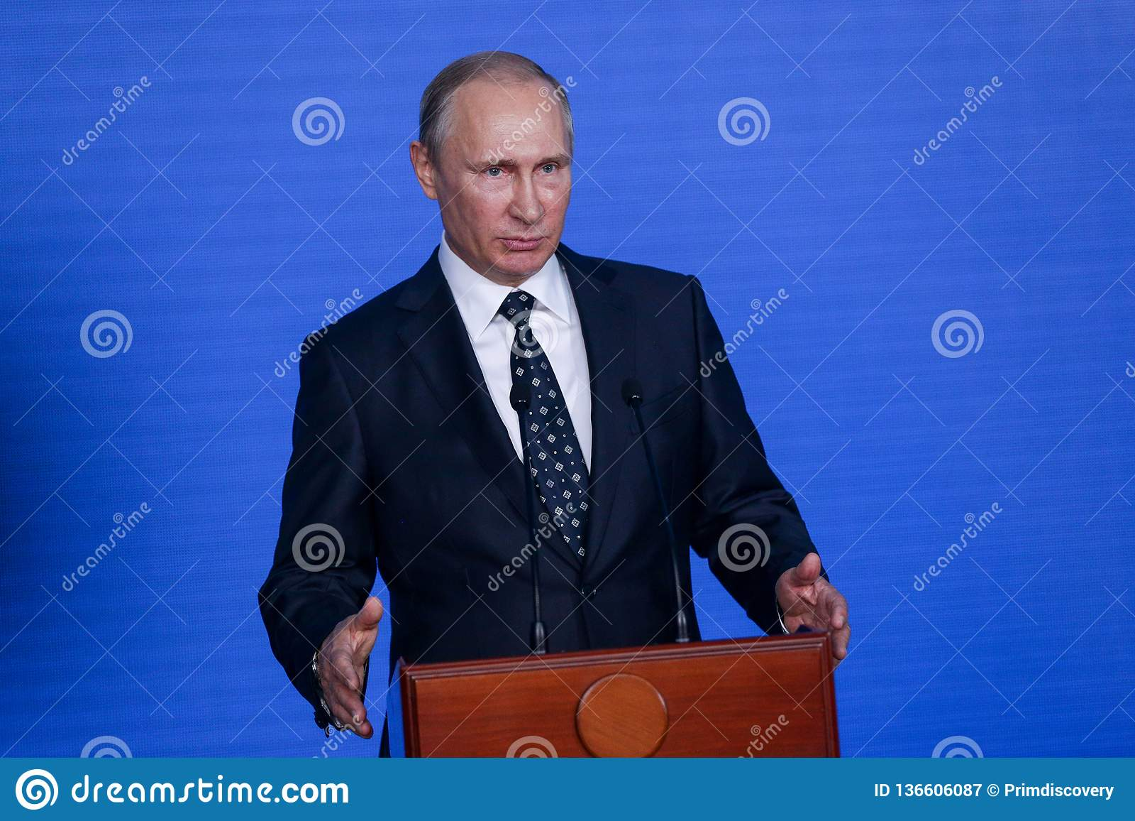 Speech by the President of the Russian Federation Vladimir Putin in the Primorsky Oceanarium