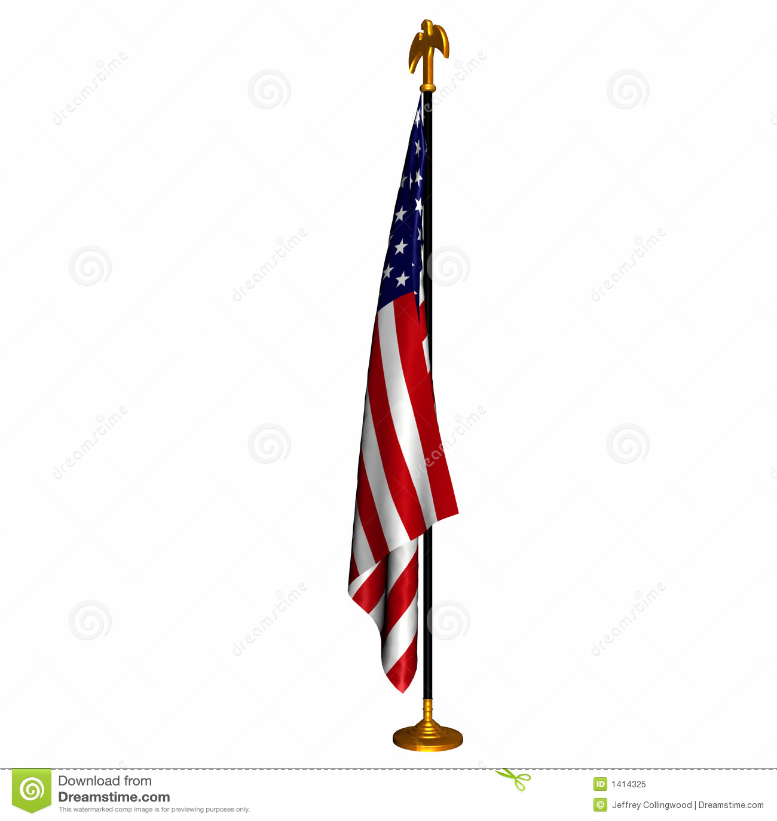 Vlag 1 van de V.S.