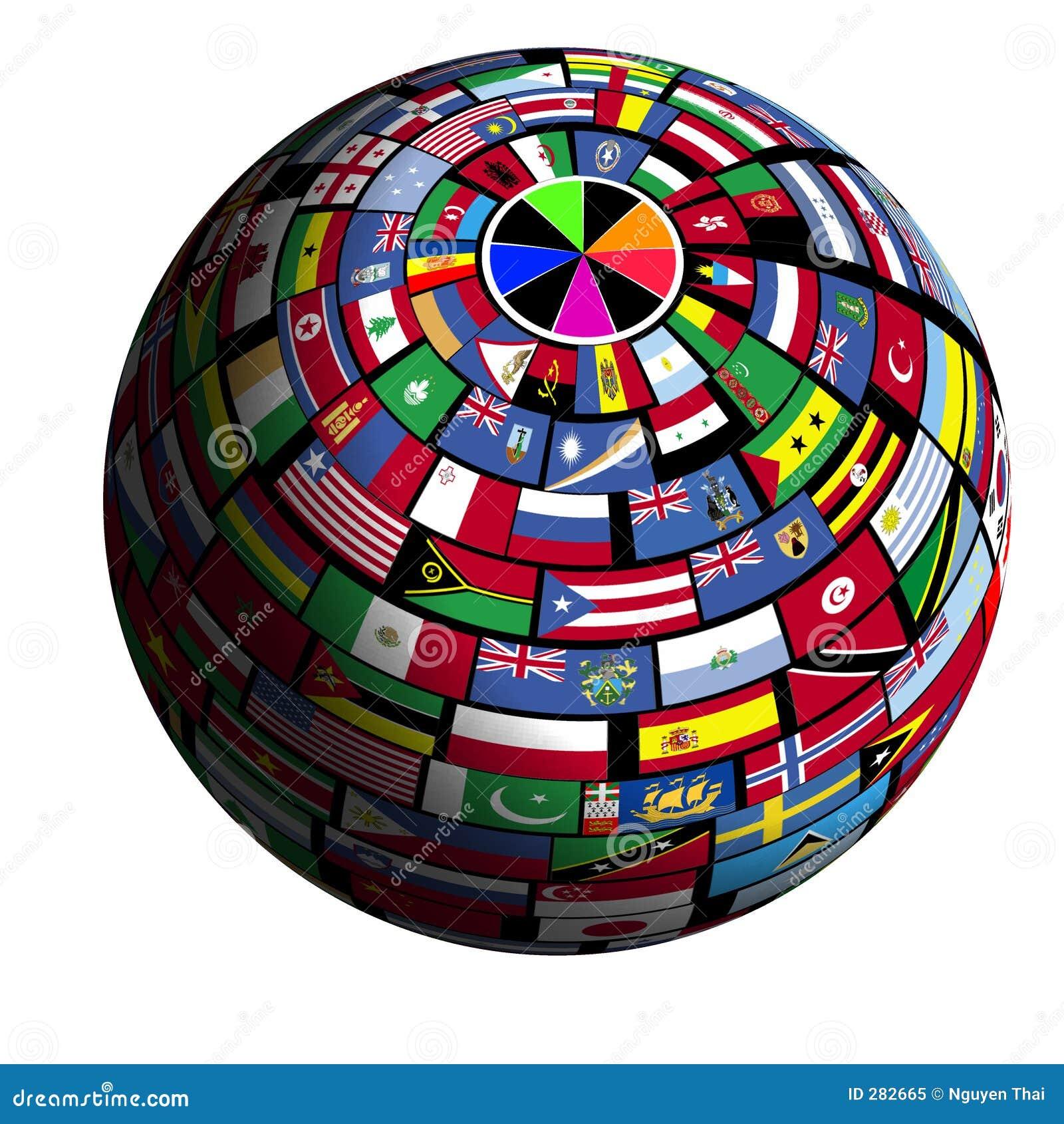 Vlag-behandelde aarde - mening Polar1