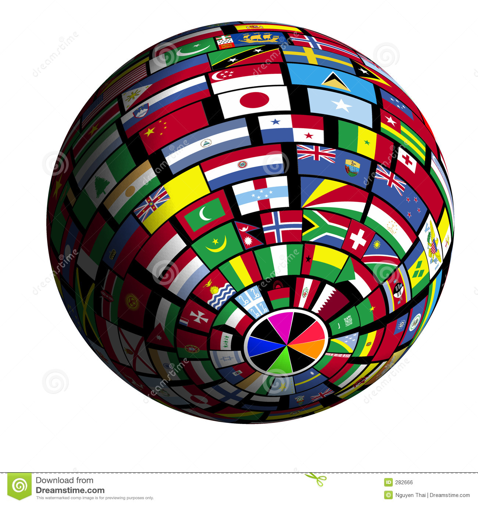 Vlag-behandelde aarde - mening Polar2
