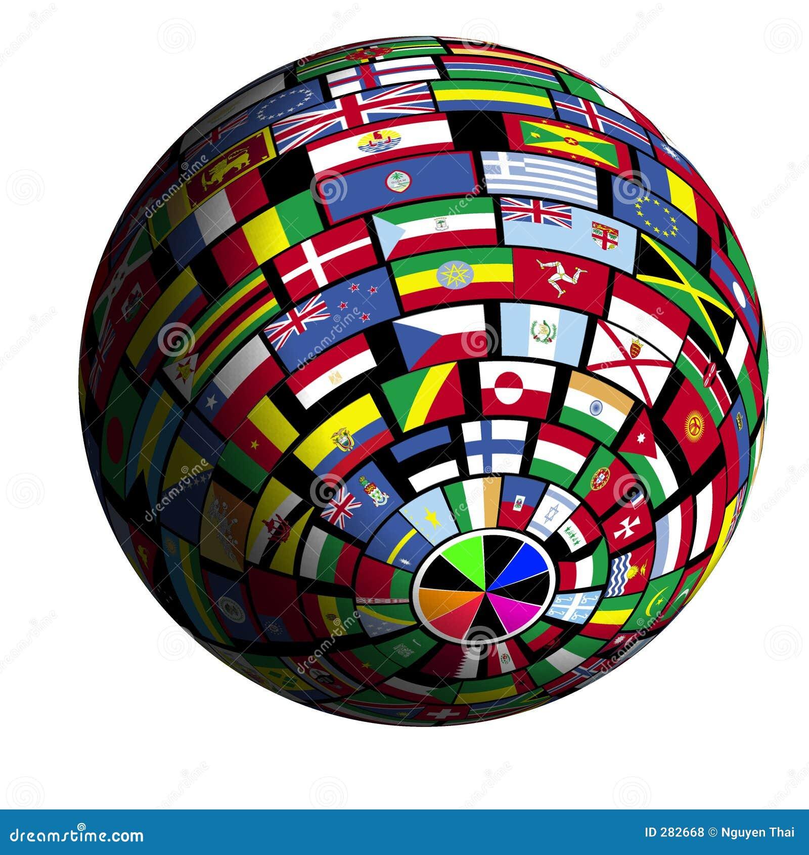 Vlag-behandelde aarde - mening Polar4