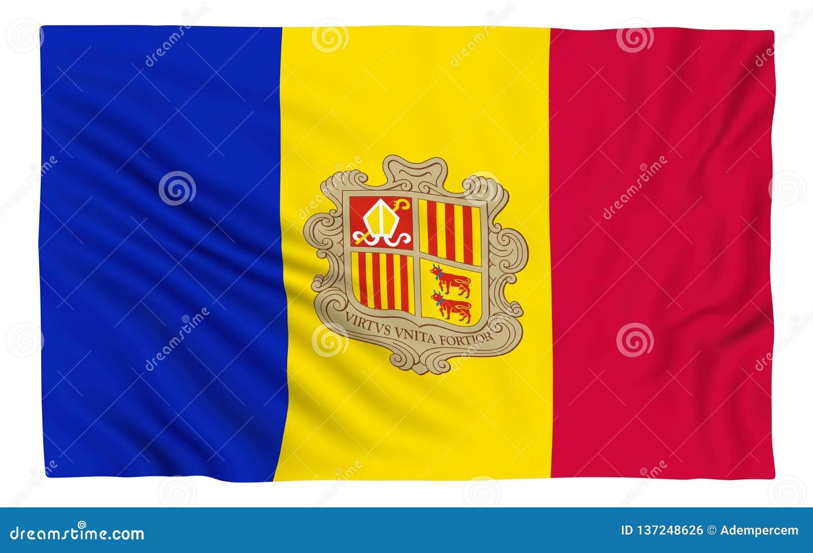Vlag van Andorra