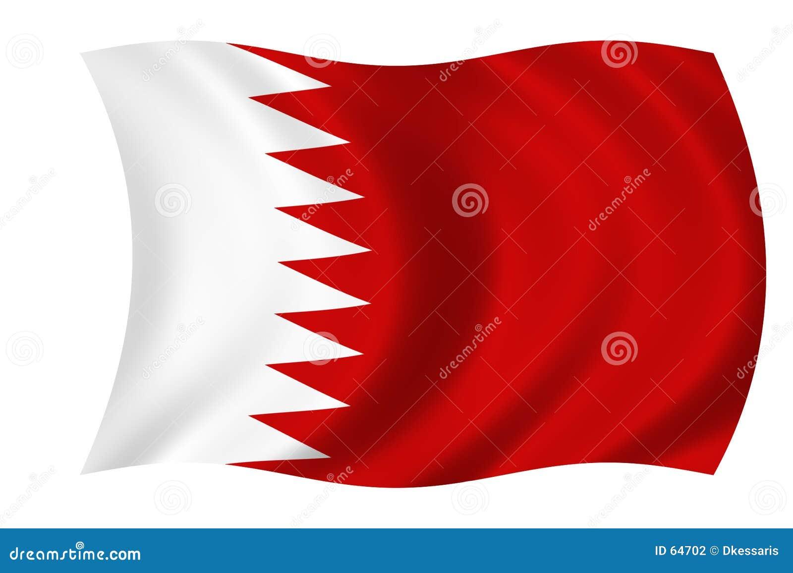 Vlag van Bahrein