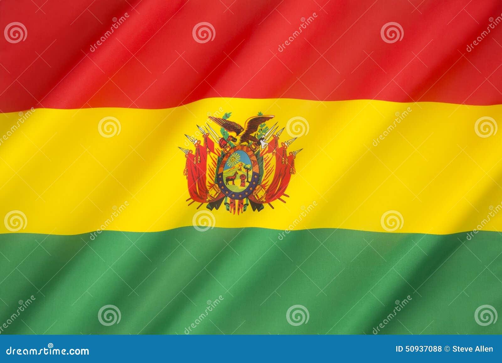 Vlag van Bolivië