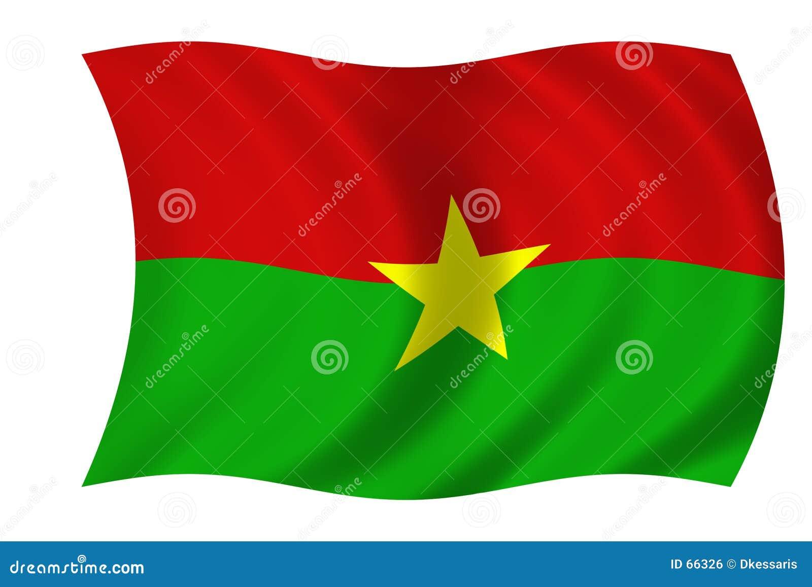 Vlag van Burkina Faso