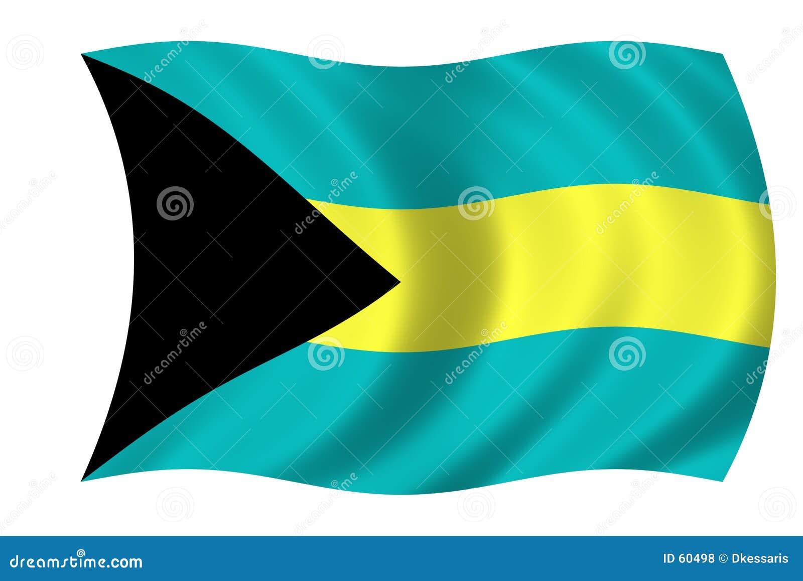 Vlag van de Bahamas