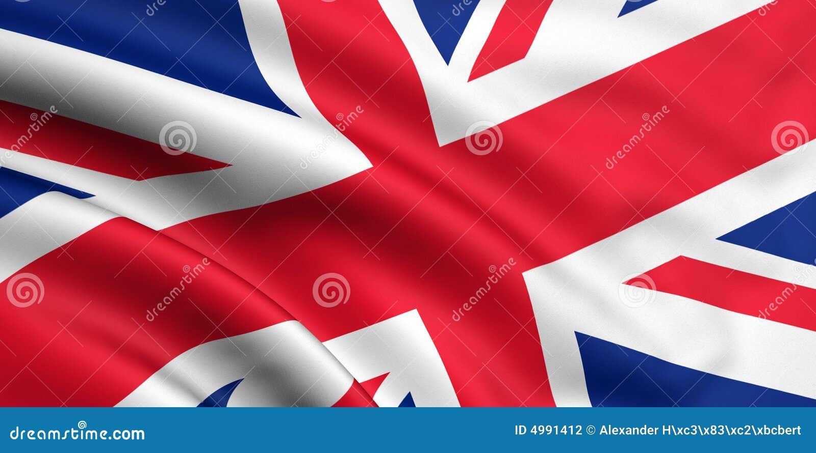 vlag groot brittanni 235 stock illustratie illustratie