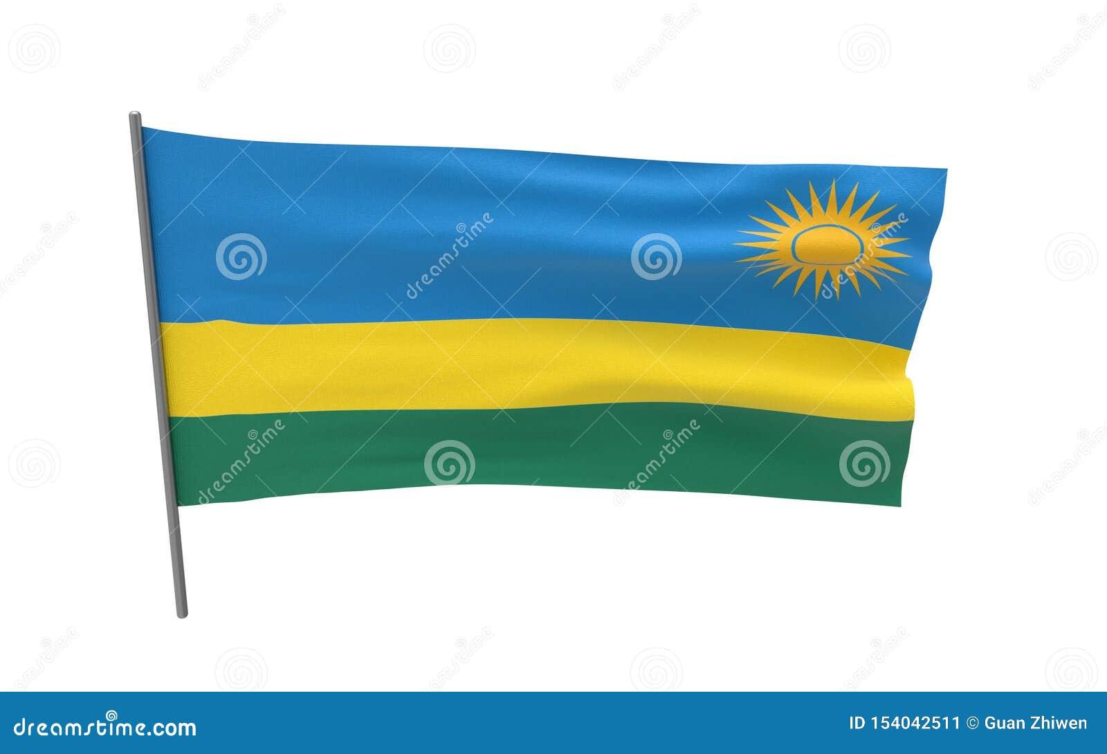 Vlag van Rwanda