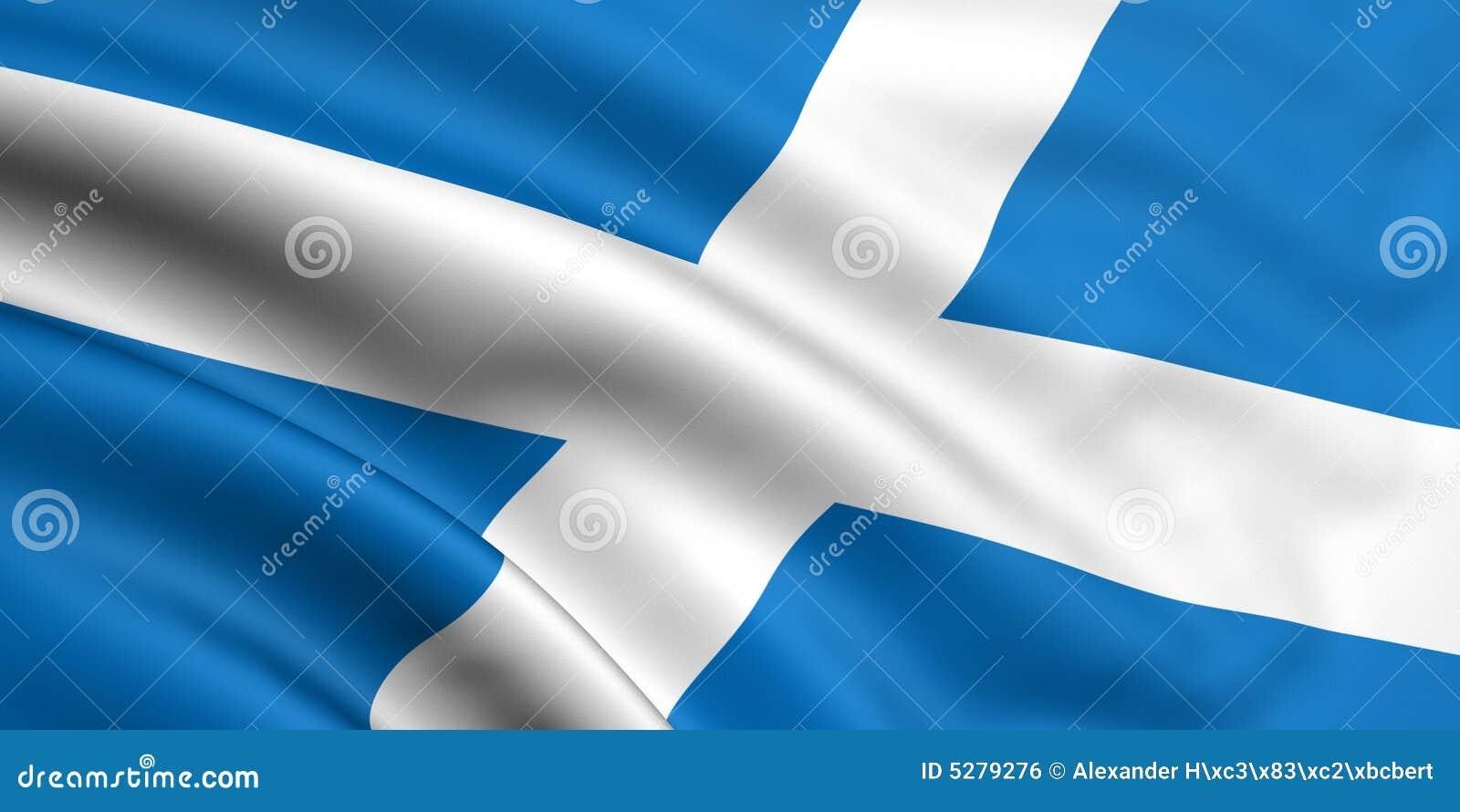 Vlag van Schotland
