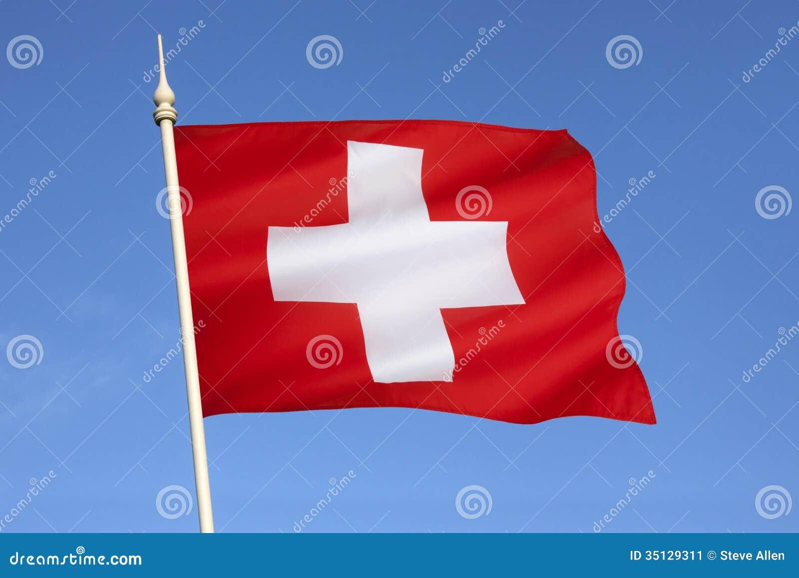 Vlag van Zwitserland - Europa