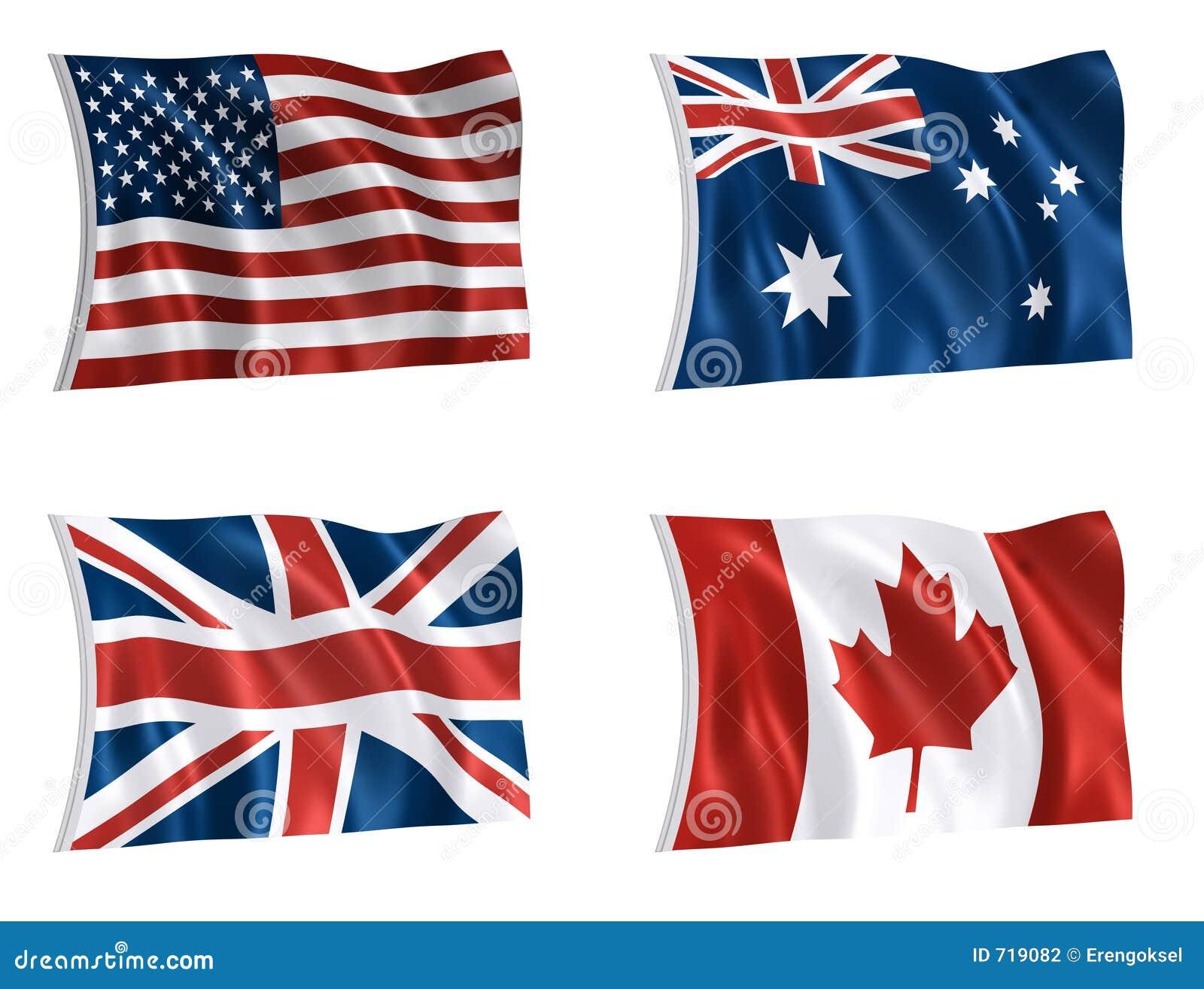 Vlaggen van wereld 01