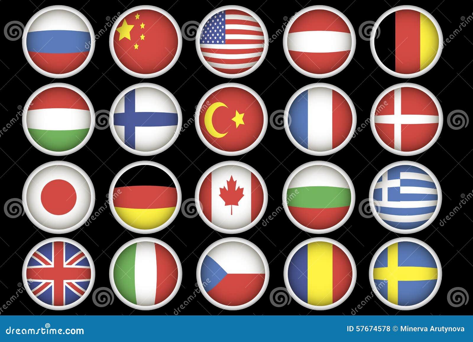 Vlagpictogrammen
