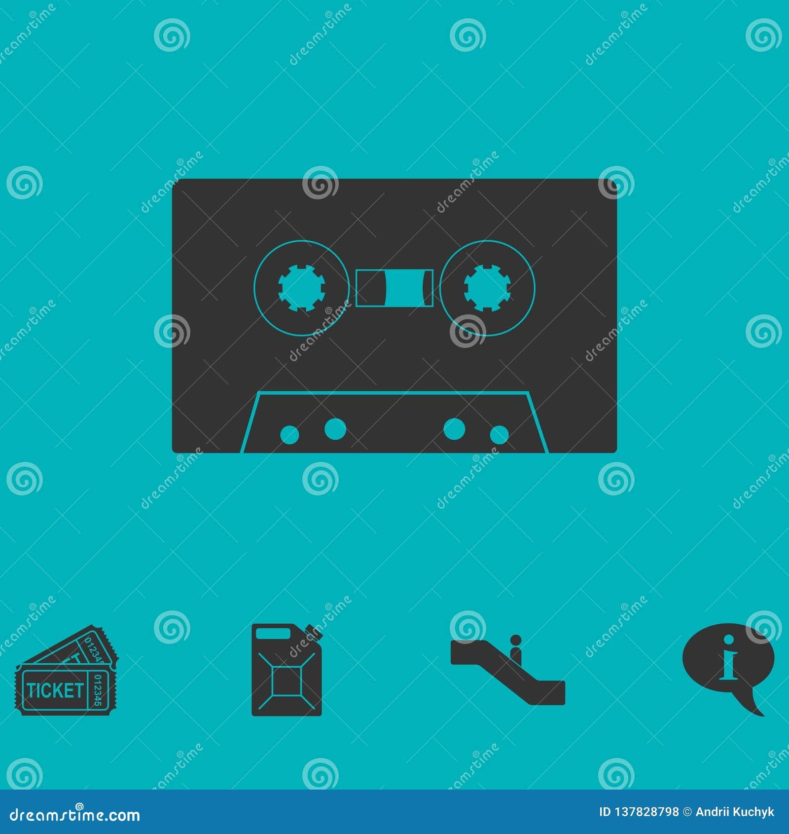 Vlak cassettepictogram