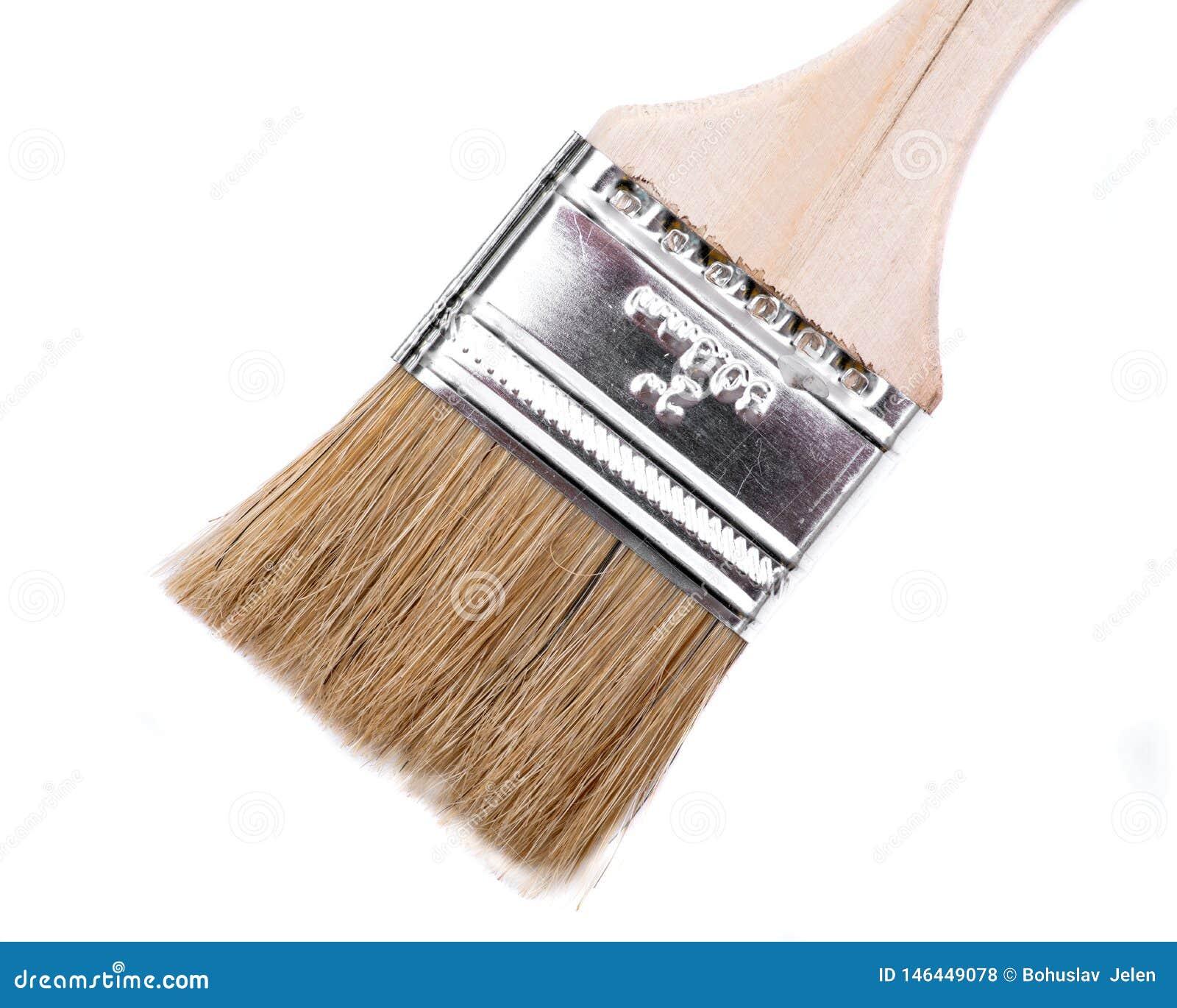 Vlak Chip Painting Brush dat op wit wordt ge?soleerd