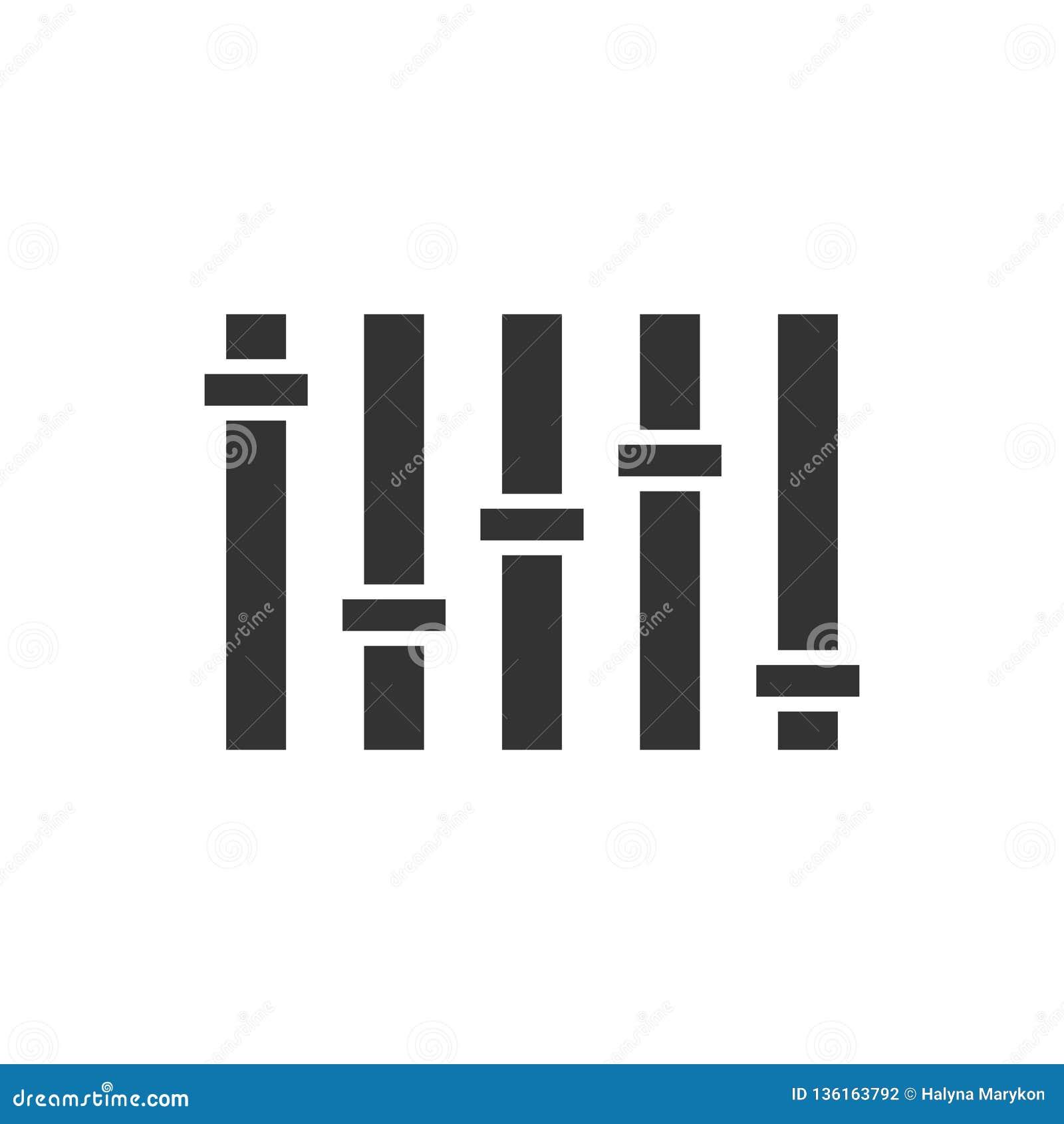 Vlak equaliserpictogram