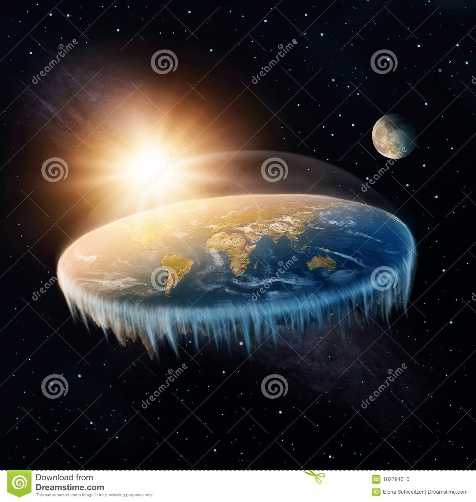 Vlakke Aarde
