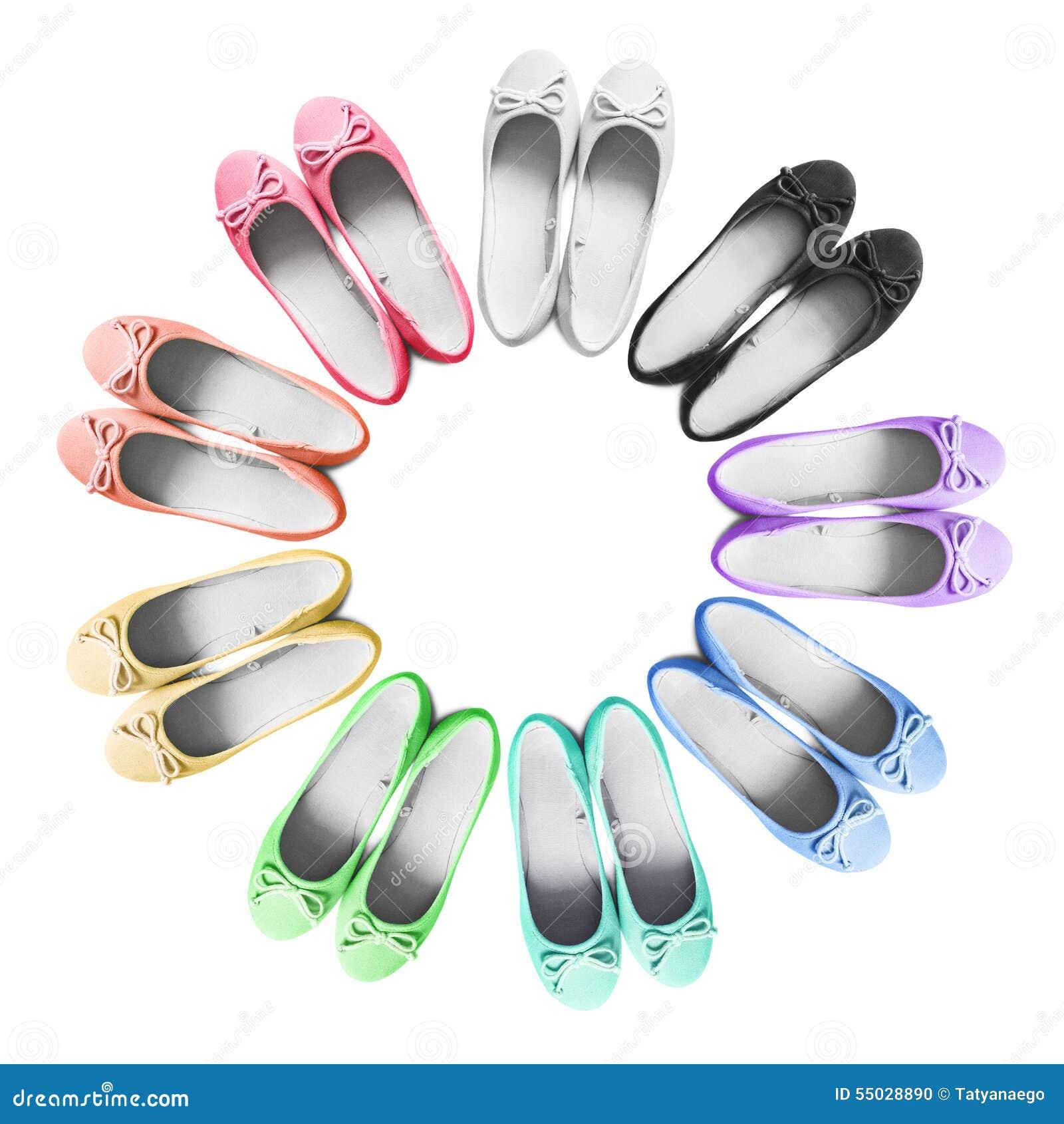 Vlakke schoenen