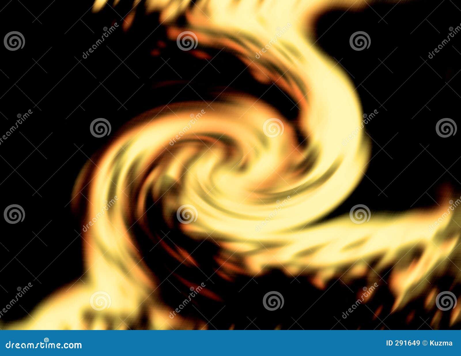 Vlammende achtergrond