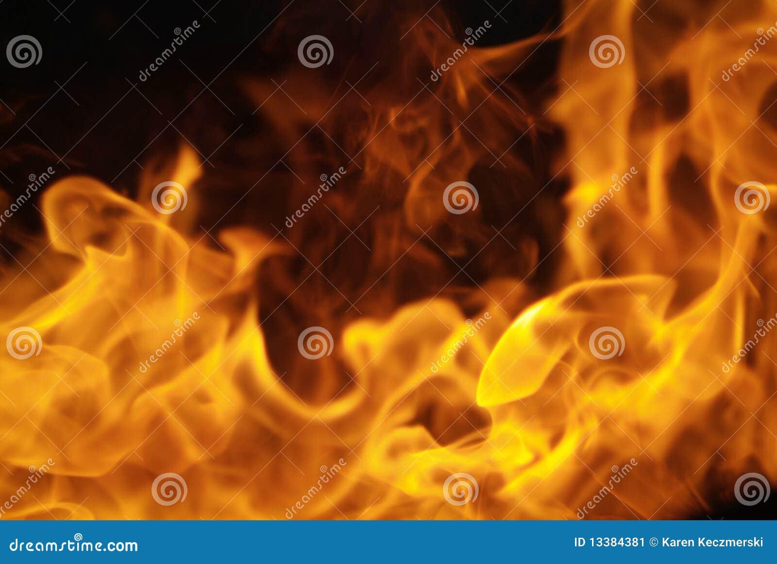 Vlammende brandgrens