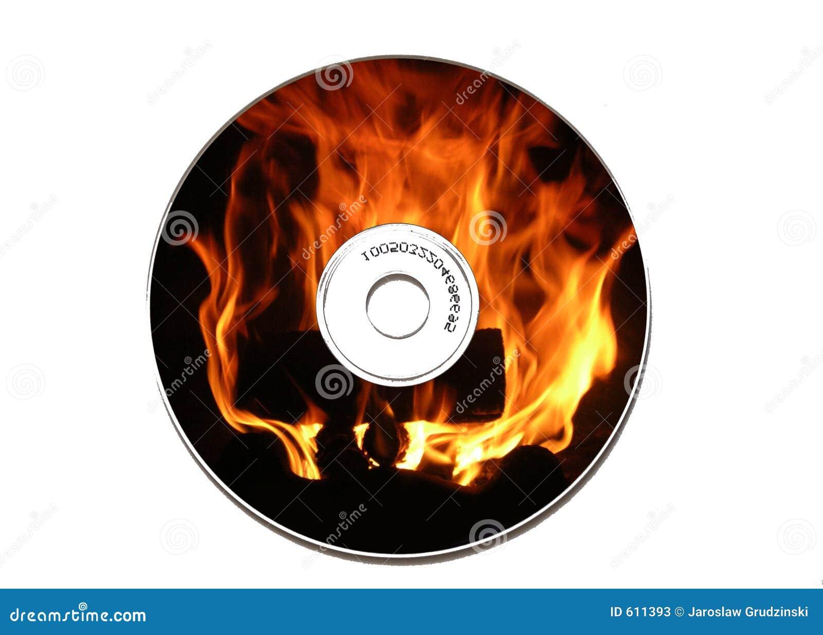 Vlammende CD