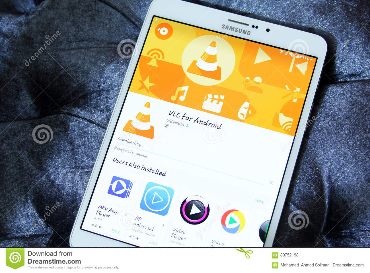 Vlc Video Player For Android App Editorial Stock Photo