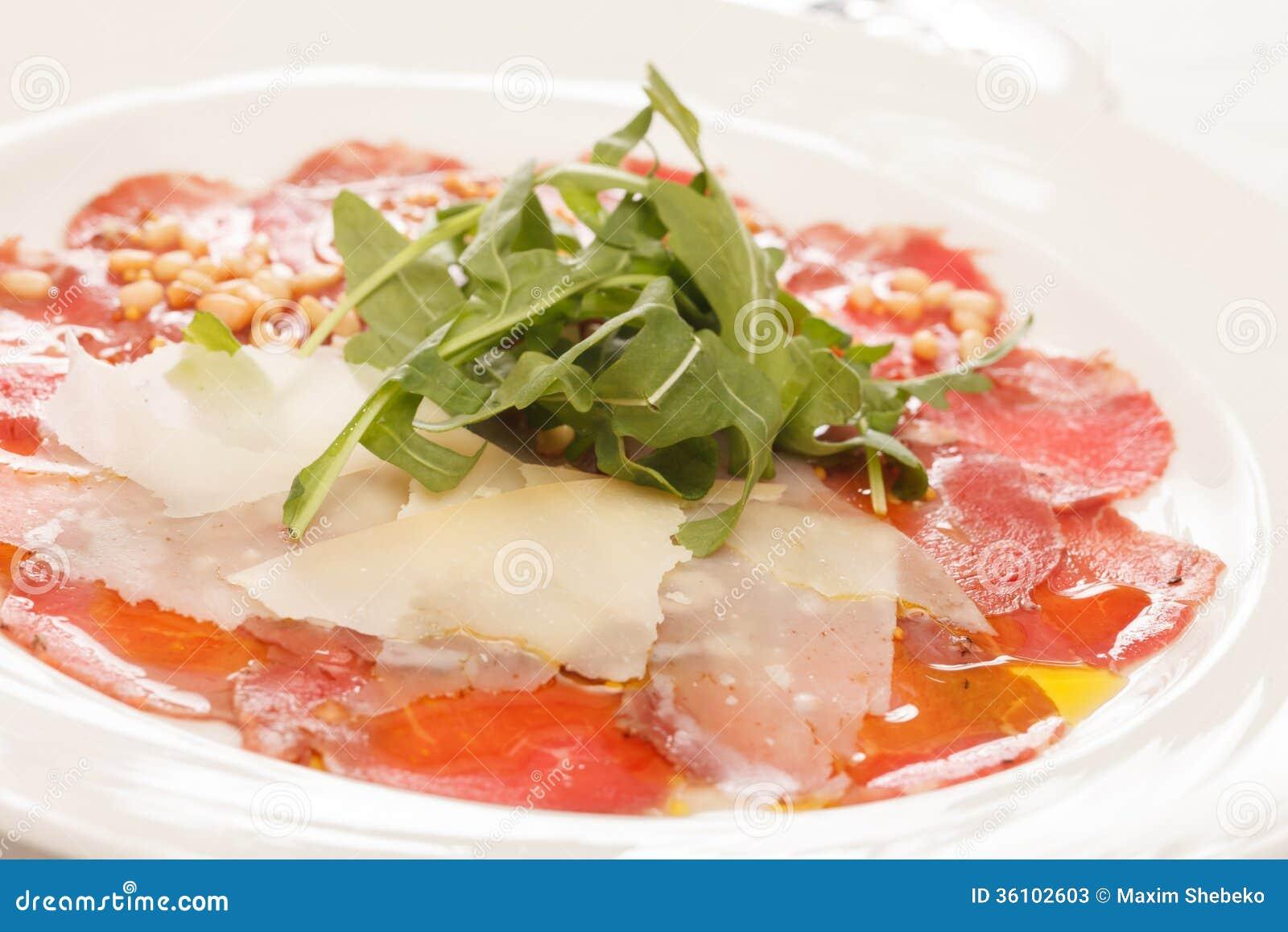 Vlees Carpaccio