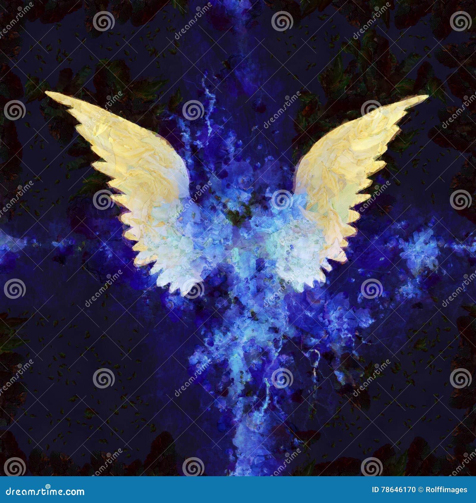 Vleugels het Schilderen